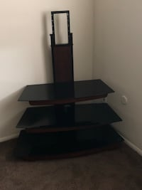 black wooden TV stand with mount Sicklerville, 08081