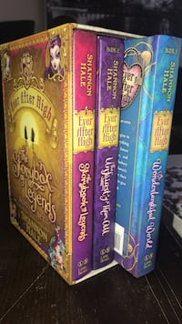 Ever after high book series excellent condition