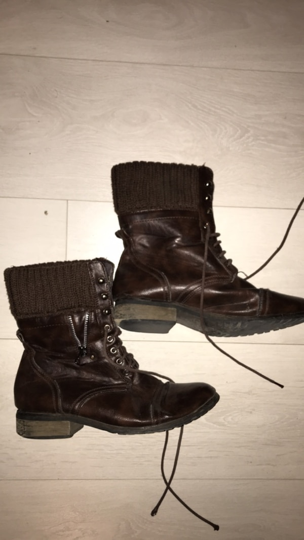 Brown boots- size 8.5/9