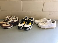 3 Pairs of Men's Nike Air Max Sneakers - Size 13 - Great Condition North Wales, 19454