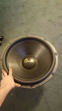"""OBSIDIAN 18"""" SUBWOOFER CHEAP Springfield"""