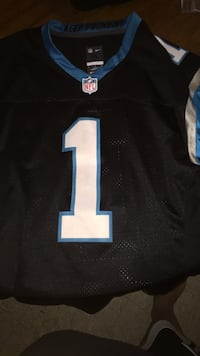black and blue NFL jersey