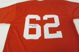 Charley Trippi St. Louis Cardinals Hand Signed Football Jersey