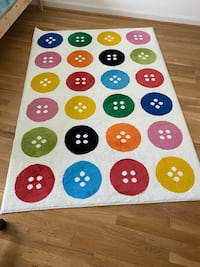"IKEA Rug, low pile, multicolour - 4 ' 5 ""x6 ' 5""( 133x195 cm) Falls Church, 22043"