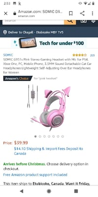 Gaming headset PS4 x box one and pc