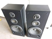 two black-and-gray speakers London, N6L 1J9