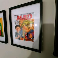 MAD MAGAZINE IN A FRAME