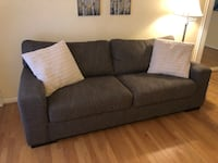 Stain Resistant Fabric Couch Herndon, 20171