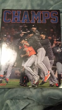 Champs Astros world series book Katy, 77494