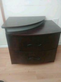 black and gray plastic 3-drawer chest Gatineau, J8P 5T5