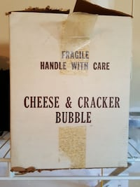 Antique Cheese And Cracker Bubble brand New!! Bergenfield, 07621