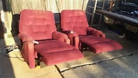 Set of matching electronic recliners with Carrollton, 75007
