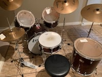 Drum Set - Sonic-9 Piece Surrey, V3Z 0G9