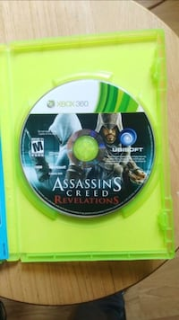 Xbox 360 Assassin's Creed game disc