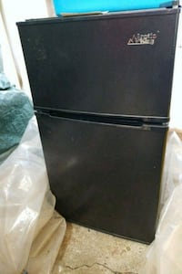 black top-mount refrigerator Sweet Home, 97386