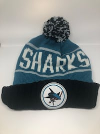 NEW Mitchell and Ness San Jose Sharks Toque with tags