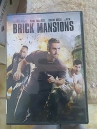 Brick Mansions DVD case Las Cruces, 88007