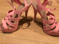 Chaussure talon rose new look taille 37 6078 km