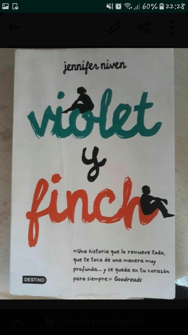 Captura de pantalla de Violet Finch