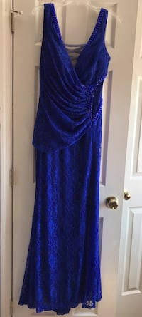 Lace & sequin prom dress/evening gown