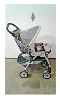 Chicco Cortina Extreme Keyfit Green & Grey Standard Stroller