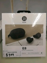 BEOPLAY B&O E8 earbuds brand new sealed.