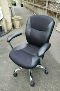 black and gray rolling armchair White Rock, V4B 2M9