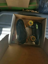 Black Carrera speed skates Dover, 19901
