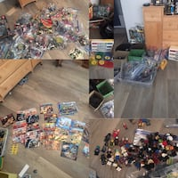 Assorted color plastic toy lot Los Alamitos, 90720