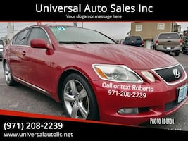 2006 Lexus GS 430 Base 4dr Sedan