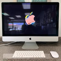 "Late 2015 27"" 5K Retina Apple iMac With Wireless Bluetooth Keyboard & Mouse See Photos For Specs"