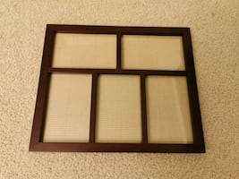 5 picture photo frame