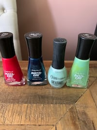 Set of four never-used nail polishes Toronto, M4P 1Z3