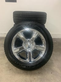 Original Chevy rims and tires