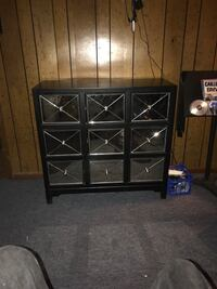 Black and gray drawer chest Aberdeen, 39730