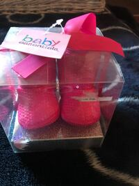 Sequined pink baby essentials boots