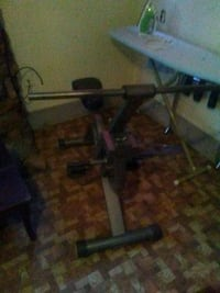 black and gray bench press North Little Rock, 72114