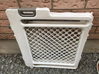 Used pet baby gate  Toronto, M5A 3P9