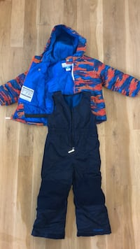 toddlers snow jacket and pants Eagle, 83616