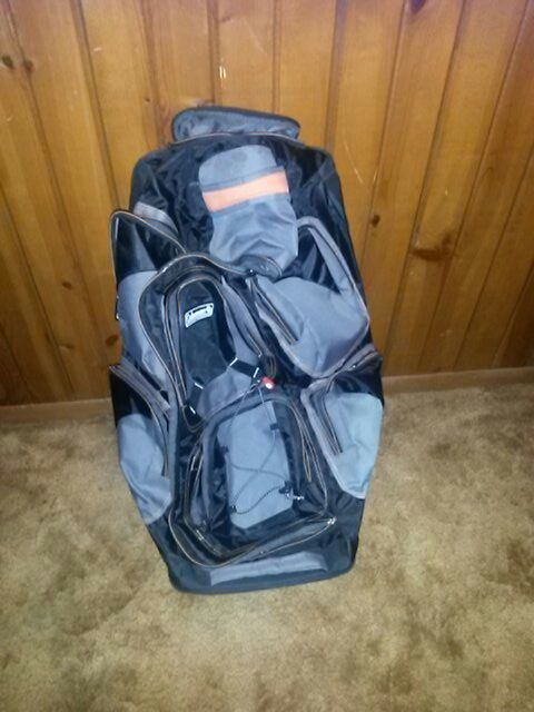 Coleman Rolling Backpack Backpacker Sa