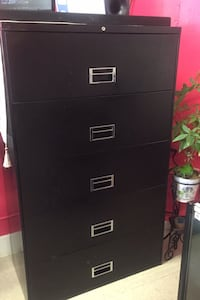 File Cabinet, 5 drawers.