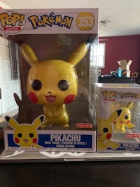 Pikachu Funko Pops Exclusives Ashton, 20861