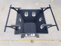 Outdoor fire pit made of steel (NEVER USED) Edmonton, T5Y 2S9