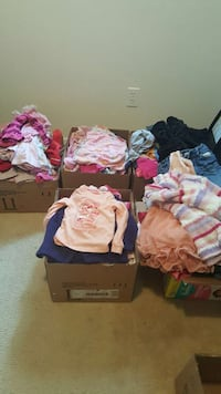 Girls Clothes.  12 months to 12 yrs.  See list Edmonton, T6M 2G7