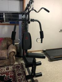 New condition home gym barely used