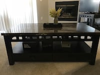 Granite coffee table W/ matching side tables Thornton, 80233