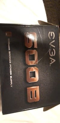 600W  EVGA powe supply never used Ashburn, 20148