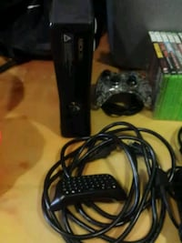 Xbox 360 console with controller and games St. Catharines, L2R 3M2