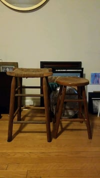 Pair of Wooden Stools Alexandria, 22314