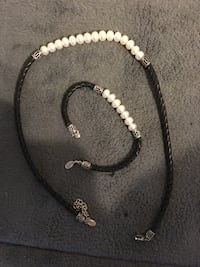 100% real Fresh water pearl necklace and bracelet Manchester, 03101